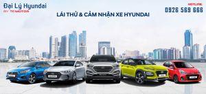 Lái Thử Xe Hyundai Tại Đại Lý Hyundai
