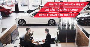 Thủ tục mua xe ô tô trả góp lãi suất thấp nhất 2